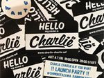CHARLIE-CHARLIE & IF YOU WANT !! LAUNCH PARTY !!  2017.04.07(FRI) at 下北沢レインボー倉庫