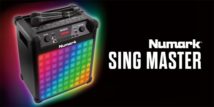 60音色のユニークなボイスエフェクト Bluetooth対応の歌声スピーカー『Sing Master』発売。