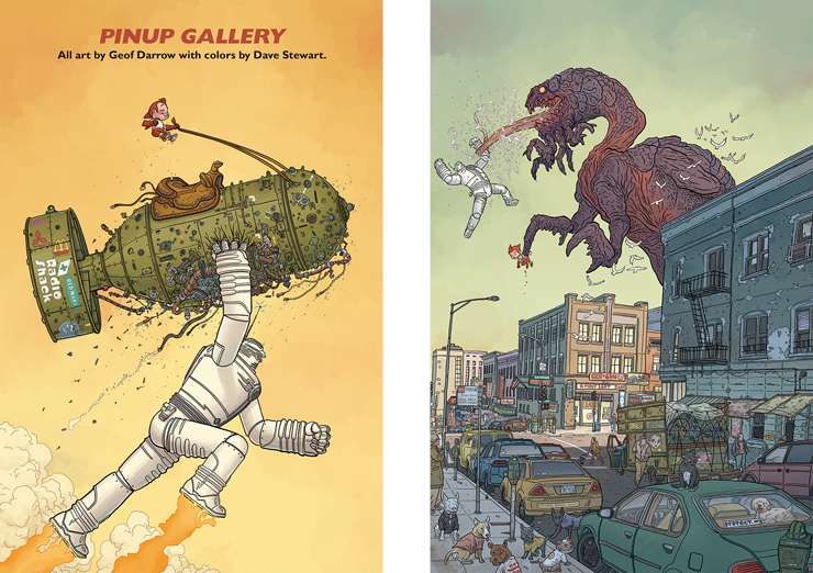 書籍『ザ・ビッグガイ&ラスティ・ザ・ボーイロボット』刊行。著者:(作)フランク・ミラー、(作・画)ジェフ・ダロウ