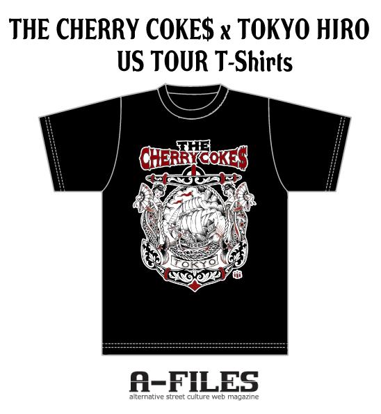 THE CHERRY COKE$ Tシャツ RT(リツイート) プレゼント キャンペーン!