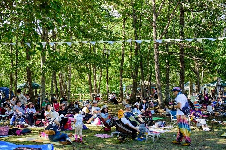 『宇宙の森フェス 2017』2017年9月9日(土) at 北海道大樹町カムイコタン公園キャンプ場