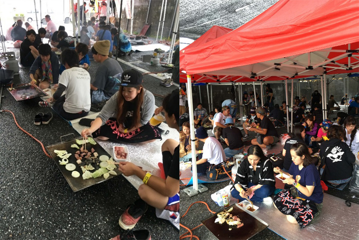 『焼來肉ロックフェス2017』2017年9月17日(日)at 長野県飯田市 野底山森林公園