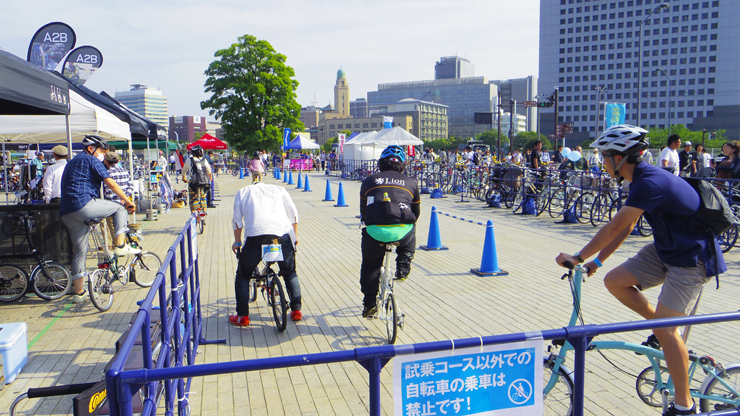 『ヨコハマ・サイクルスタイル2017』2017年6月10日(土)11日(日) at 横浜赤レンガ倉庫