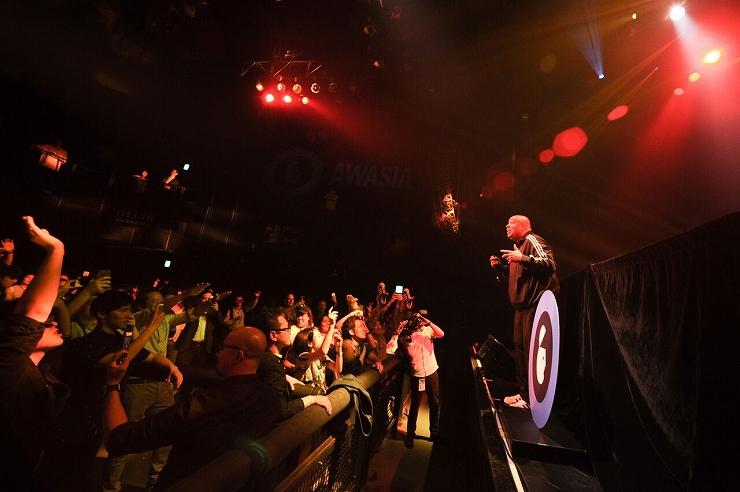Rev. Run (RUN DMC) ライブパフォーマンス(2017/06/01) at 赤坂BLITZ