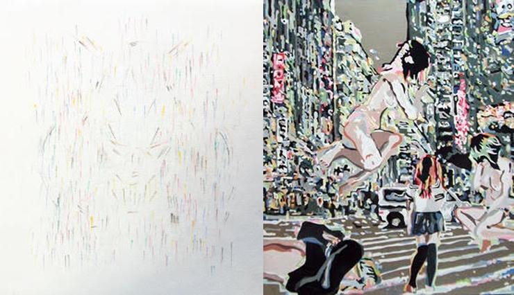 石井健 阿部起任 二人展『nostalgia』2017年6月27日(火)~7月6日(木)at EARTH+GALLERY