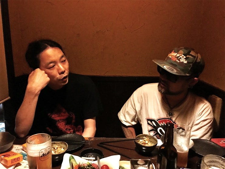 Jun(JIKOOHA) x DJ Comer(3rd EYE Japan,etc) インタビュー