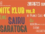 『sloWPorch presents ナイトクラブ vol.8』2017年7月23日(日) at 浜松Planet Cafe