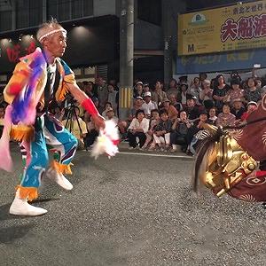女川港大漁獅子舞まむし (宮城県女川町)