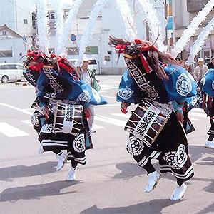 仰山流笹崎鹿踊 (岩手県大船渡市)