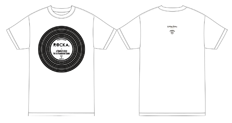 ROCKA × RUDE GALLERY コラボレーション・イベントTシャツ