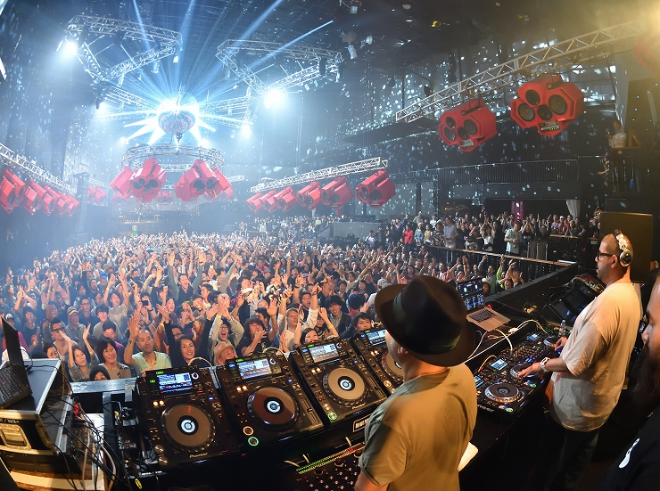 『MASTERS AT WORK in JAPAN ‒ To Be In Love ‒』2017年11月18日(土)ageHa @ STUDIO COAST