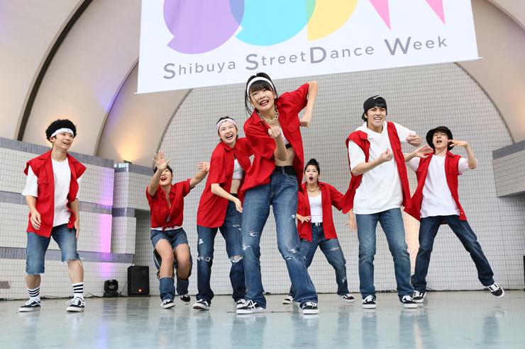 『Shibuya StreetDance Week 2017』2017年12月3日(日)at 代々木公園(野外ステージ・イベント広場・ケヤキ並木)