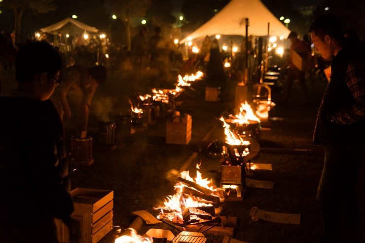 焚火クラブ2017 【TAKIBI CLUB2017】2017年11月11日(土)12日(日)at 江東区立 若洲公園キャンプ場