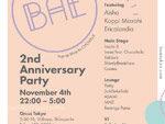 『Bae Tokyo 2nd Anniversary』2017.11.04 (SAT) at CIRCUS Tokyo