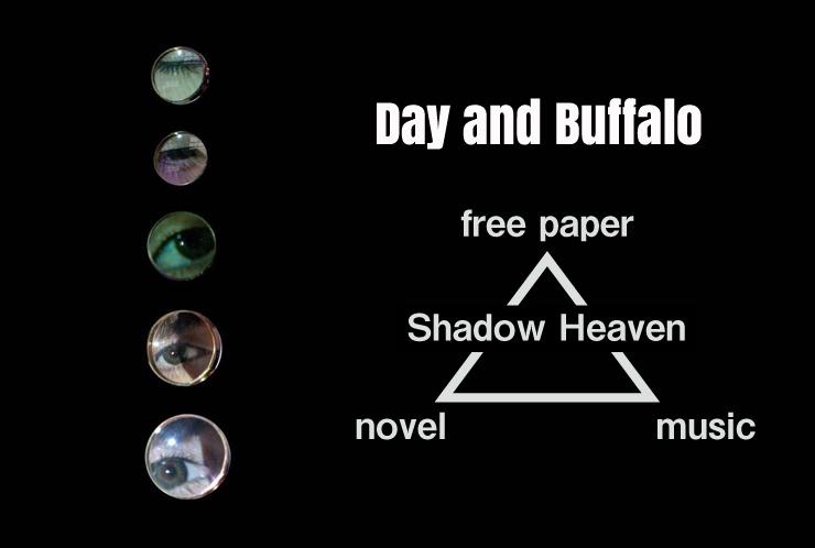 Day and Buffalo ニューアルバム『Shadow Heaven』音源、小説、フリーペーパーという3つの表現でリリース。