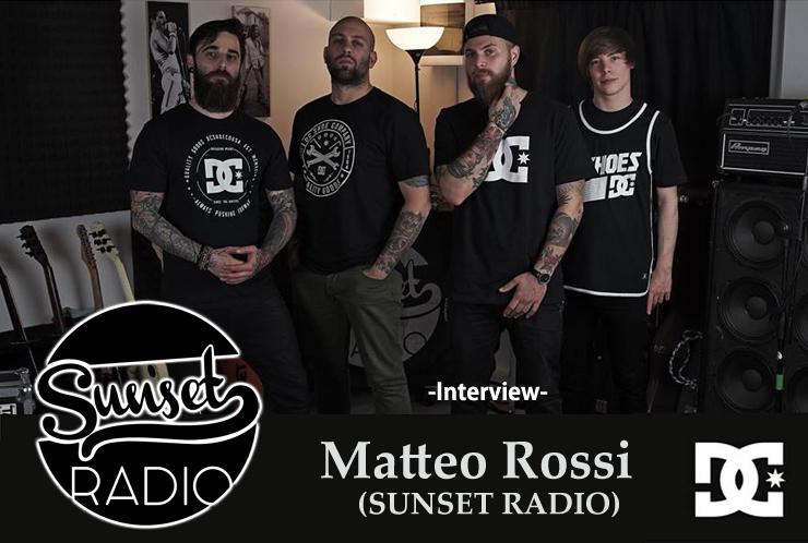 Matteo Rossi (SUNSET RADIO) 来日直前緊急インタビュー