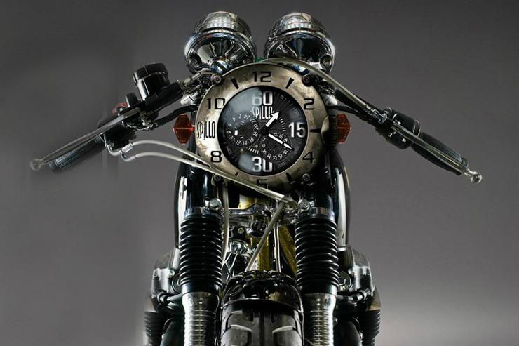 バイク愛好家が生み出したイタリアンウォッチ「スピーロ」にヴィンテージレザーストラップモデルが登場。