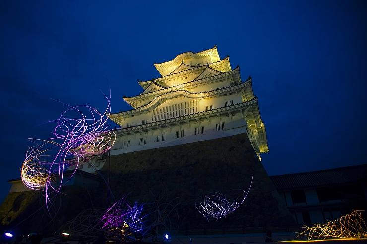「姫路城×彩時記」秋 -color of the season-