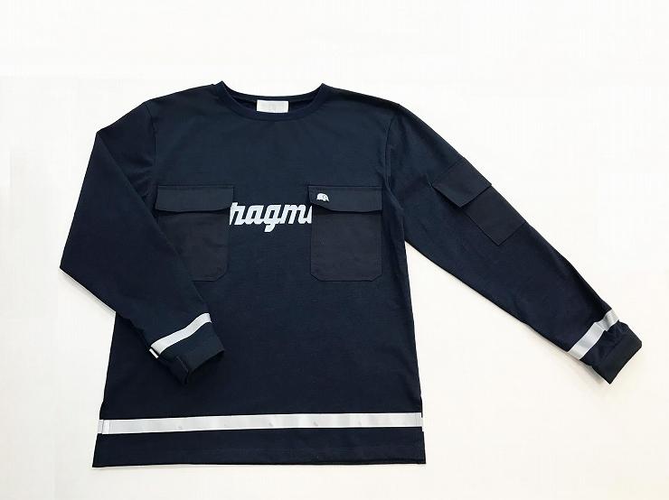 keisuke kanda × magma ワークTシャツ・フォー・マグマ (紺・黒)各19,440円(税込).