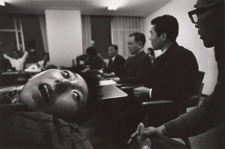 水俣問題の中央公害審査委員会,東京,1973年頃 (C) Aileen M. Smith
