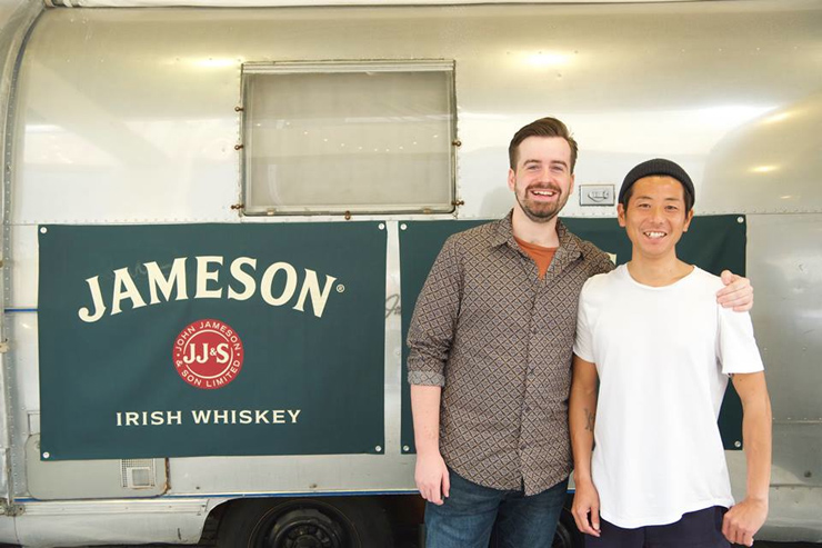 JAMESON × 8HOTEL『Don't Touch My Moustache』キャンペーン クロージング・チャリティライブ