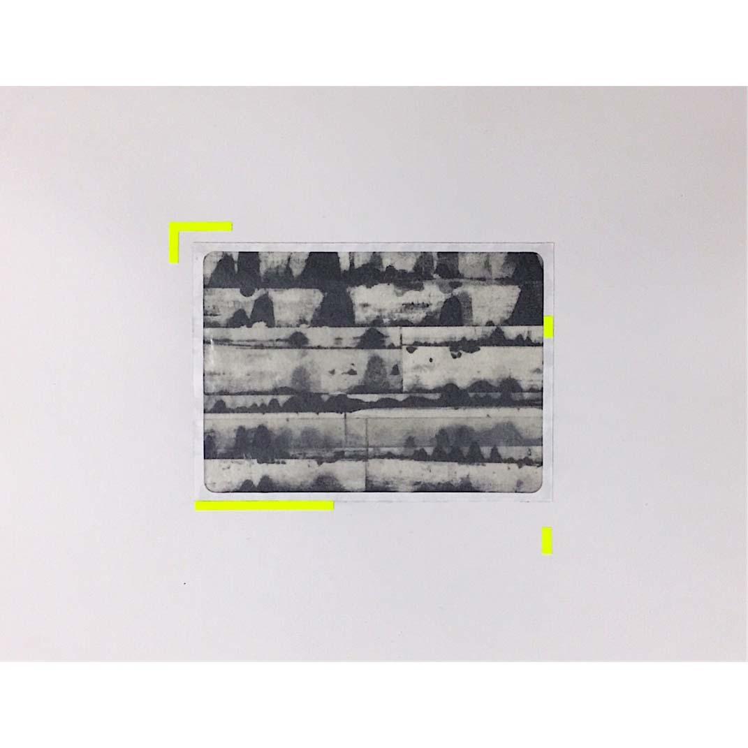 Takuma Ishibe  (silkscreen, collage)