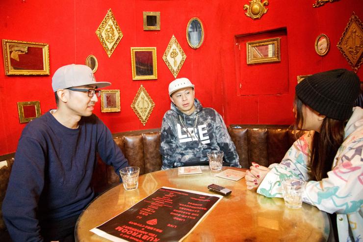 RUBY ROOM 15周年記念インタビュー(DJ BAKU、LIBRO、メメ)