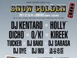 "ENDEAVOR x GROUNDRIDDIM x APPLEBUM presents ""SNOW GOLDEN"" 大忘年会"