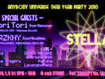 『- Anybody Universe New Year Party 2018 – STELLA vol.02』2018.01.05(Fri)at 東心斎橋 club STOMP