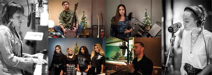 世界のトップアーティストが新録・再録したクリスマスソング集「Spotify Singles: Holiday」