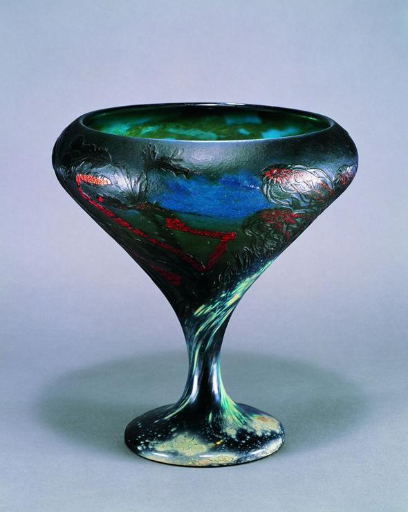 エミール・ガレ(1846-1904)の展覧会『エミール・ガレ 自然の蒐集』