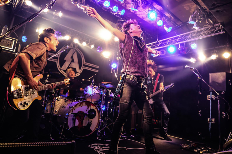 SA - New Album『GRACE UNDER PRESSURE』Release