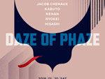 『DAZE OF PHAZE』2018年1月19日(金)at 渋谷 Contact
