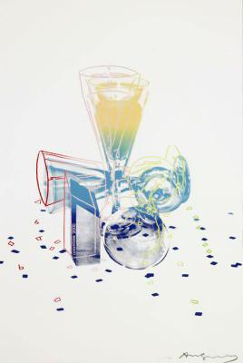アンディ・ウォーホル, Andy Warhol  Committee 2000 1982年 シルクスクリーン、 額 76.35 x 50.95 cm