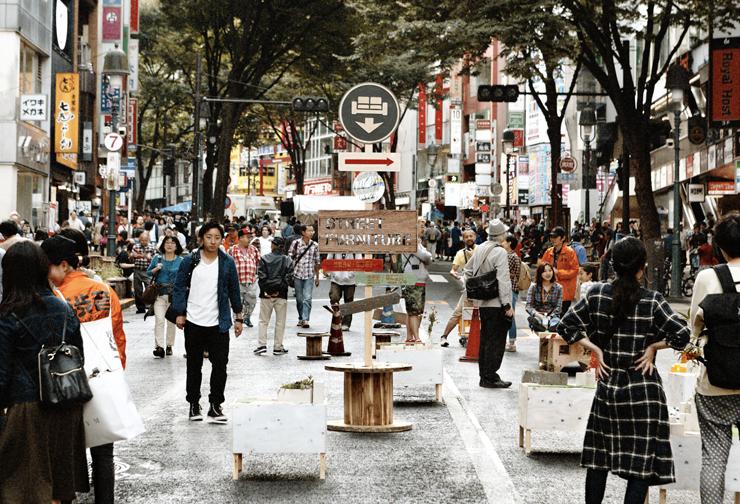 『似非シブヤ展──都市を書き換える5日間の仮設』