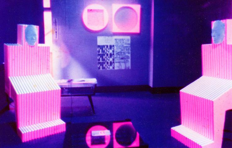 スペースプラン 5回展 1970(鳥取)の展示風景
