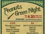 『Peanuts Green Night』2018.04.20 (Fri) at 元住吉Powers2