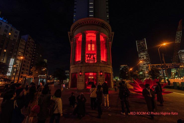 『RED ROOM #3』2018年5月11日(金)12日(土)at  YCC ヨコハマ創造都市センター 1階エントランス