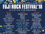 FUJI ROCK FESTIVAL '18 ~出演アーティスト第7弾~