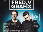 『CIRCUS presents Fred V & Grafix  supported by COCALERO』2018.06.30(SAT) at CIRCUS TOKYO