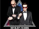 『TUXEDO JAPAN TOUR 2018』2018年7月15日(日) at 渋谷 SOUND MUSEUM VISION