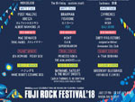 FUJI ROCK FESTIVAL '18 ~出演アーティスト第9弾~