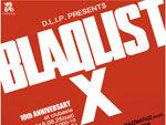 『BLAQLIST -10th ANNIVERSARY-』 2018年8月25日(土)at 渋谷 clubasia