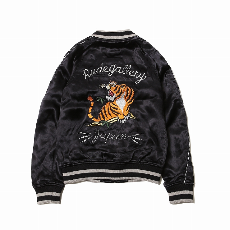 RUDE GALLERY『STONED TIGER x MARIA SOUVENIR JACKET』