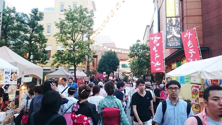 『CITTA'の夏祭り』