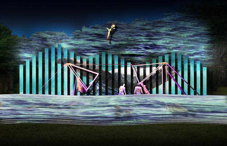 光と音が織りなす幻想祭「平戸、海のものがたり」2018.9.1(土)~10.31(水)at 長崎県 平戸城内