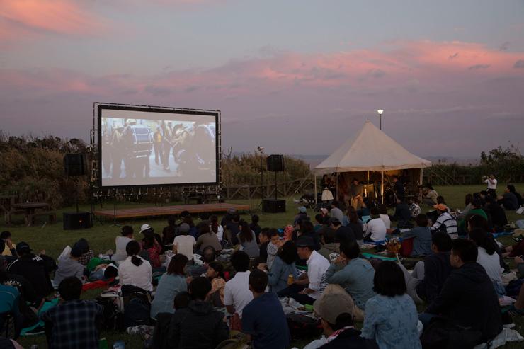 『星降る町の映画祭 with CINEMA CARAVAN』2018年9月29日(土)30日(日)at 神奈川県立城ヶ島公園