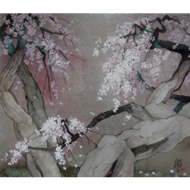 遠山 悦子「真間の桜」