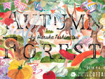 『利光春華ギャラリー~Ribbon  AUTUMN FOREST ~』 2018年9月4日(火)~17日(月) at HMV&BOOKS HIBIYA COTTAGE