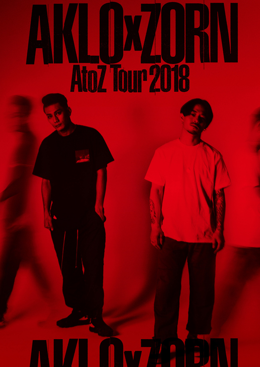 AKLO x ZORNのツーマン・ツアー『A to Z TOUR 2018』追加公演